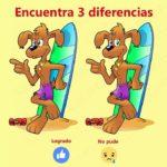 Encuentra las 3 Diferencias